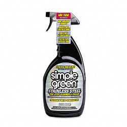 Stainless Steel One-Step Cleaner & Polish 32 oz. Spray Bottle (SPG18300)