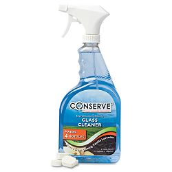 Conserve Glass Cleaner One Gallon Four 32 oz. Refills Vanilla Lavender (BAU10530)