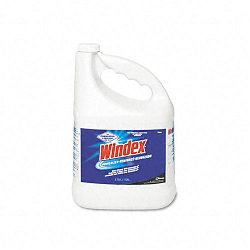 Powerized Formula Glass & Surface Cleaner 1 Gallon Bottle Carton of 4 (DRA90940CT)