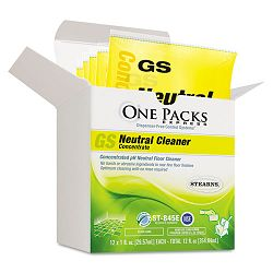 GS Neutral Cleaner Concentrate 1 oz. Packets Box of 12 (STNST0845EST)