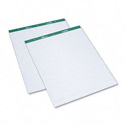 "Flip Chart Pads Quadrille Rule 27"" x 34"" White 2 50-Sheet PadsPack (AMP24032)"
