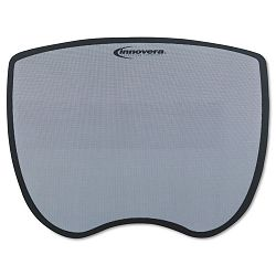 Ultra Slim Mouse Pad Nonskid Rubber Base 8-34 x 7 Gray (IVR50469)