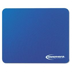 Natural Rubber Mouse Pad Blue (IVR52447)