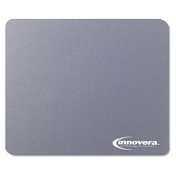 Natural Rubber Mouse Pad Gray (IVR52449)