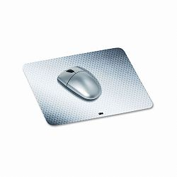 "Precise Mouse Pad Nonskid Repositionable Adhesive Back 8-12"" x 7"" Gray (MMMMP200PS)"