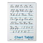 "Chart Tablets Unruled 24"" x 32"" White 25 SheetsPad (PAC74510)"