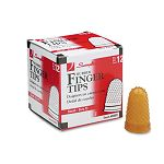 Rubber Finger Tips Size 11 Small Amber Pack of 12 (SWI54031)