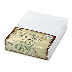 "Second Nature Recycled Scratch Pad Unruled 5"" x 8"" 12 100-Sheet PadsPack (TOP74717)"