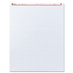 "Recycled Easel Pads Quadrille Rule 27"" x 34"" White 50-Sheet Carton of 2 (UNV35602)"