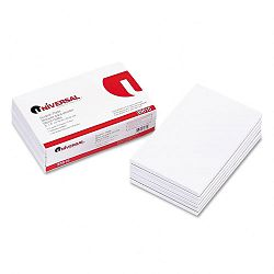 "Scratch Pads Unruled 5"" x 8"" White 12 100-Sheet PadsPack (UNV35615)"
