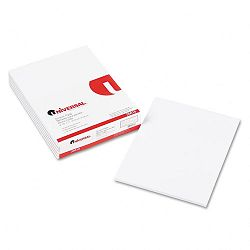 "Scratch Pads Unruled 8-12"" x 11"" White 6 100-Sheet PadsPack (UNV35618)"