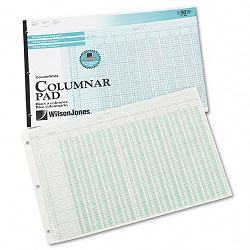 "Accounting Pad 13 Eight-Unit Columns 11"" x 16 38"" 50-Sheet Pad (WLJG7213A)"
