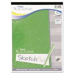 "Academie Sketch Pad 9"" x 12"" White 50 Sheets (MEA54012)"
