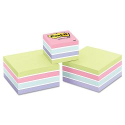"Cubes One 360-Sheet 2"" x 2"" Two 400-Sheet 3"" x 3"" Sweet Pea (MMM2053SPVAD)"