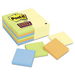 "Office Pack 3"" x 3"" Four Colors 24 90-Sheet PadsPack (MMM65424SSCYN)"