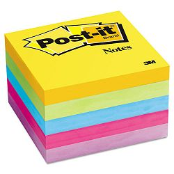 "ULettera Color Notes 3"" x 3"" Five Colors 5 100-Sheet PadsPack (MMM6545UC)"
