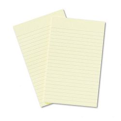 "Original Notes 5"" x 8"" Lined Canary Yellow 2 50-Sheet PadsPack (MMM663YW)"