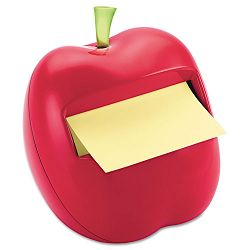 "Apple Notes Dispenser for 3"" x 3"" Pads Red (MMMAPL330)"