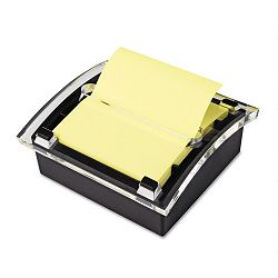 "Clear Top Pop-up Note Dispenser for 3"" x 3"" Self-Stick Notes Black (MMMDS330BK)"