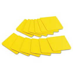"Full Adhesive Notes 3"" x 3"" Canary Yellow Pack of 12 (MMMF33012SSY)"
