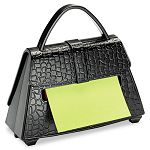 "Pop-up Notes Purse Dispenser 3"" x 3"" Pad Black (MMMPD654US)"