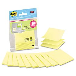 "Laptop Pop-up Notes Refill 3"" x 3"" Canary Yellow 10 20-Sheet PadsPack (MMMR330LND10)"
