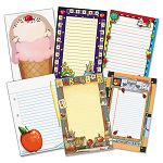 Notepad Set School Theme 6 50-Sheet PadsSet (TCR9032)