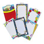 Notepad Set SchoolSeasonal Theme 6 50-Sheet PadsSet (TCR9033)