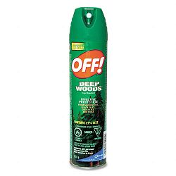 Deep Woods Off! 6-oz. Aerosol Can Carton of 12 Cans (DRACB018425CT)