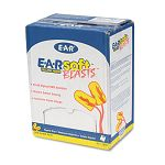 E-A-Rsoft Blasts Ear Plugs Corded Foam Yellow Neon Box of 200 Pairs (MMM3111252)