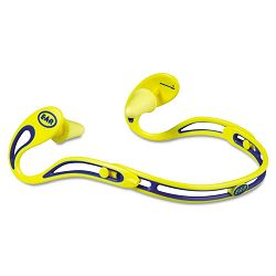Swerve Banded Hearing Protector Corded Yellow (MMM3222000)