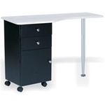 Marble Manicure Table by OZ Hair and Beauty (MT04 M)
