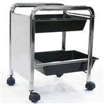2 Tray Pedicure Trolley (PL913)