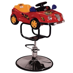 Kid's Red Sports Car Styling Chair (PL607)