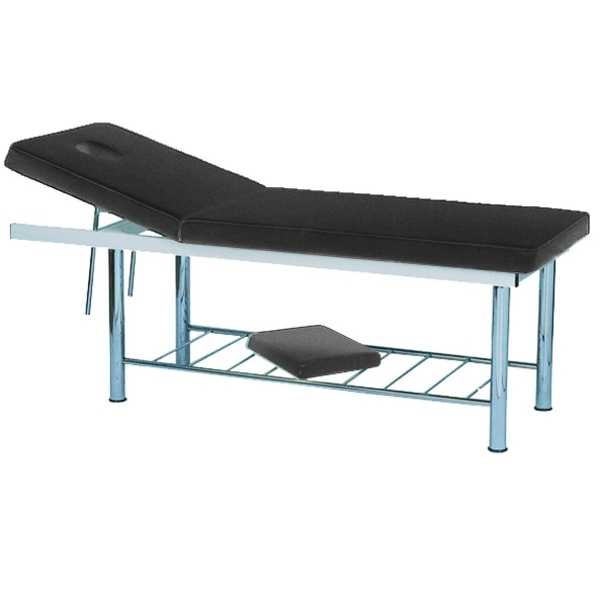 Lightweight Massage Bed Facial Bed - Black + Free Stool (PL807B)