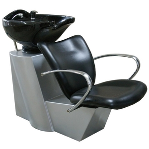 Backwash Shampoo Unit with Silver Base (PL756)
