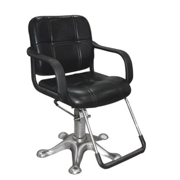 Classic Styling Chair With Star Hydraulic Base Black (PL334)