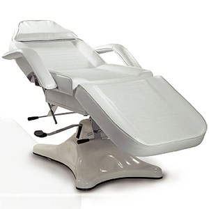 Alpine White Hydraulic Facial Bed with Stylish Base (PL823)