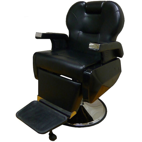 Lars Barber Chair Black Upholstery (PL116)