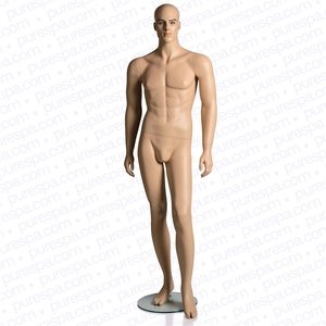 Full Male Mannequin - Skin Color (RPMB-1)