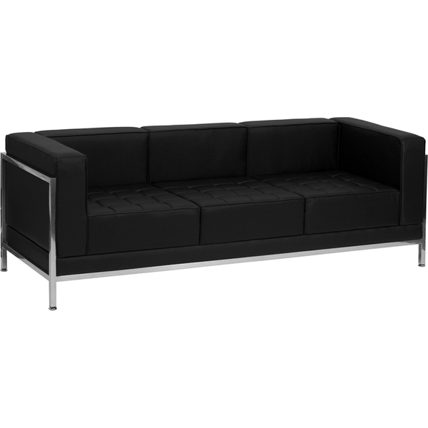 "Reception Sofa with Exo Frame 79"" Wide by BIGA (ZB-IMAG-SOFA-GG)"