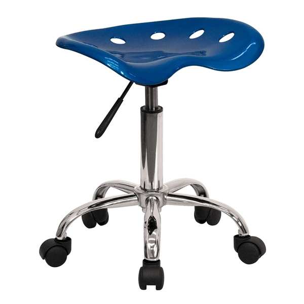 Tractor Stool Bright Blue by BIGA (LF-214A-BRIGHTBLUE-GG)