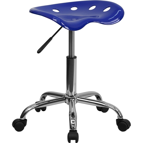 Tractor Stool Nautical Blue by BIGA (LF-214A-NAUTICALBLUE-GG)