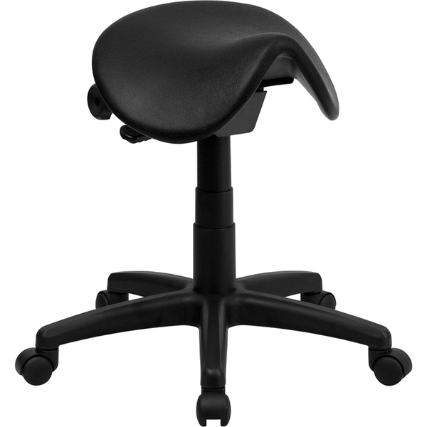 Ergonomic Backless Saddle Stool by BIGA (WL-915MG-GG)