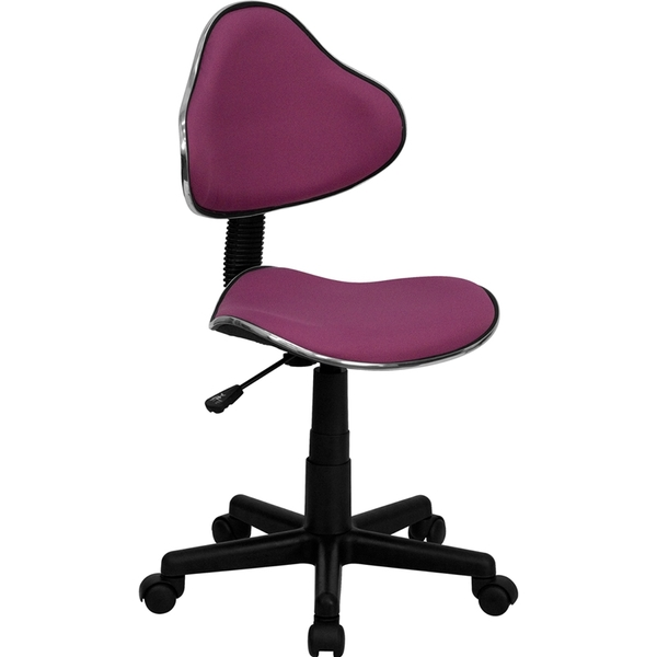 Euro Style Ergonomic Technician Chair Lavender by BIGA (BT-699-LAVENDER-GG)