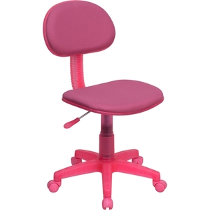 Ergonomic Technician Chair Pink by BIGA (BT-698-PINK-GG)