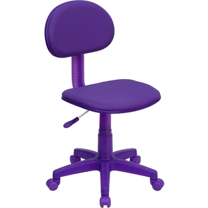 Ergonomic Technician Chair Purple by BIGA (BT-698-PURPLE-GG)