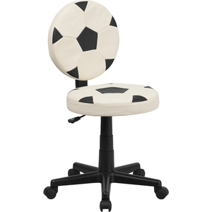 Soccer Themed SpaSalon Technician Chair by BIGA (BT-6177-SOC-GG)