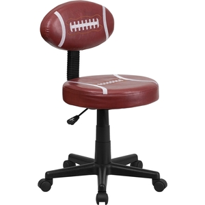 Football Themed SpaSalon Technician Chair by BIGA (BT-6181-FOOT-GG)