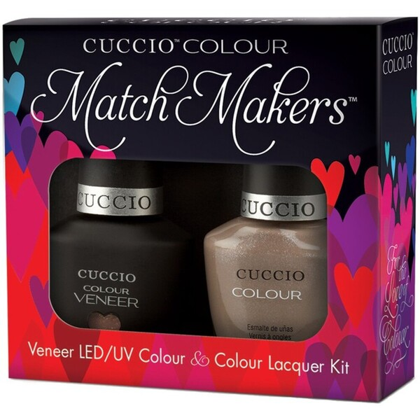 Cuccio Colour Veneer LEDUV Polish - Cream & Sugar (663286)